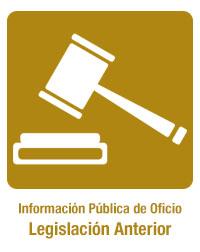 legislación anterior
